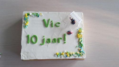 Vic wordt 10 jaar!